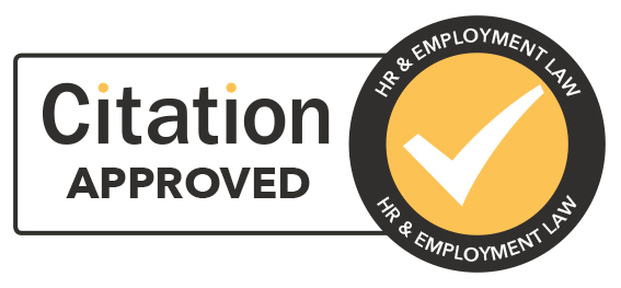 HR and Employment law citation approved